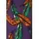 LuLaRoe Randy (XL) Feathers on Purple