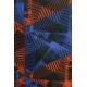 LuLaRoe Randy (XL) Blue and orange patterns