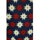LuLaRoe Randy (XS) Red and White on Blue 2