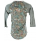 LuLaRoe Randy (XS) patterns on body, glay sleeves 2