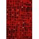 LuLaRoe Sarah (XS) black patterns on red