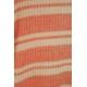 LuLaRoe Sariah (10) Peach White Stripes