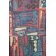 LuLaRoe Sariah (4) Blue Red Patterns