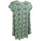 LuLaRoe Scarlett (10) Patterns on Green