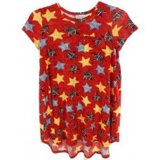 0783d4bb1a099e LuLaRoe Scarlett (8) Stars on Red