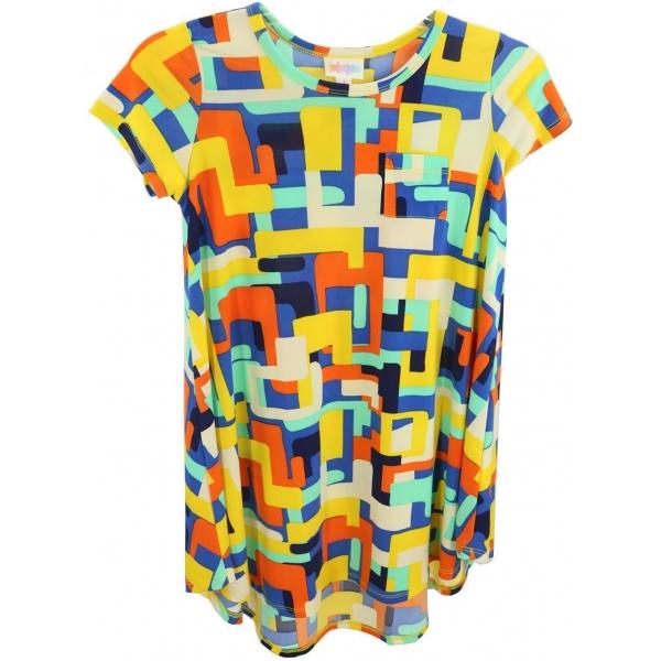 LuLaRoe Scarlett (8) Multicolored Patterns 2