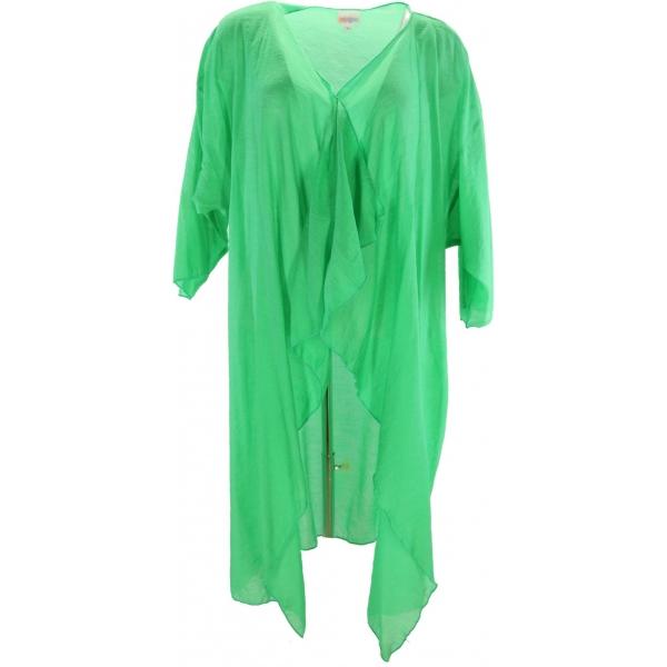 LuLaRoe Shirley (Large) Solid Green