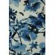 LuLaRoe Tanktop (Medium) Blue flowers on white