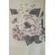 LuLaRoe Tanktop (Medium) Flowers on White