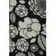 LuLaRoe Valentina (2XL) Black and White Flowers